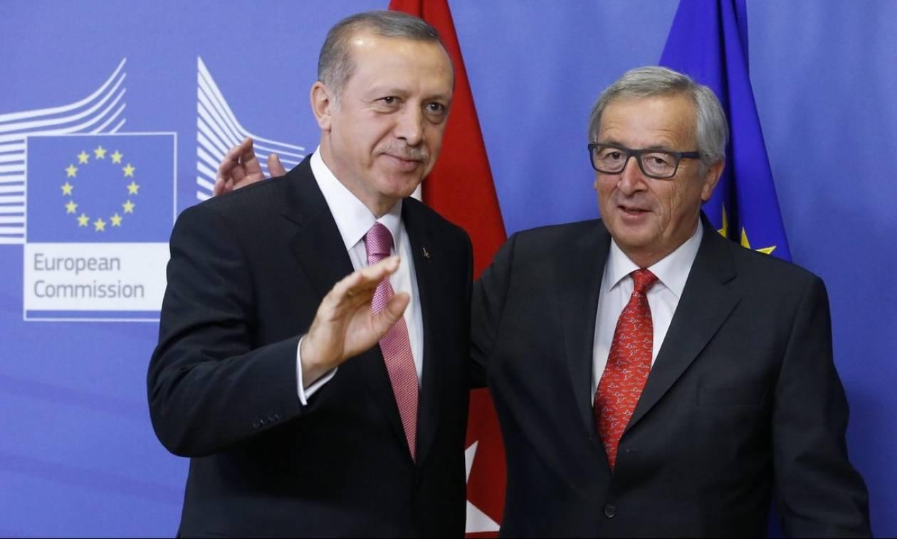 Γιουνκέρ σε Ερντογάν: Τέλος η Ευρώπη αν επαναφέρεις τη θανατική ποινή