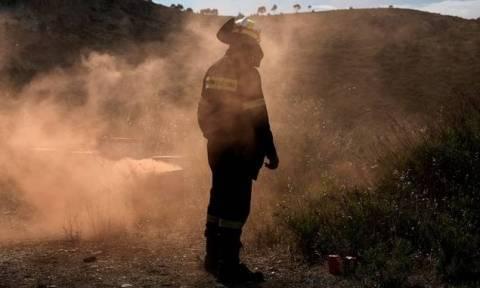 Πέθανε ο πυροσβέστης που είχε τραυματιστεί στη φωτιά στο Ζευγολατιό