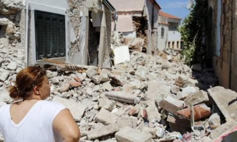 Σεισμός Μυτιλήνη: Σε φορτισμένο κλίμα ο εορτασμός της Αγίας Μαρίνας στη Βρίσα