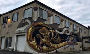 Το φοβερό γκράφιτι που ξετρέλανε τους Καναδούς!