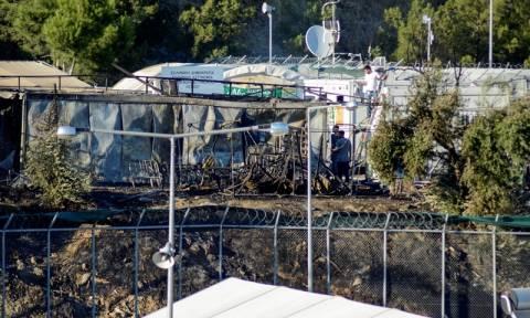 Κατεστάλη η εξέγερση στη Μόρια - Επτά αστυνομικοί τραυματίες
