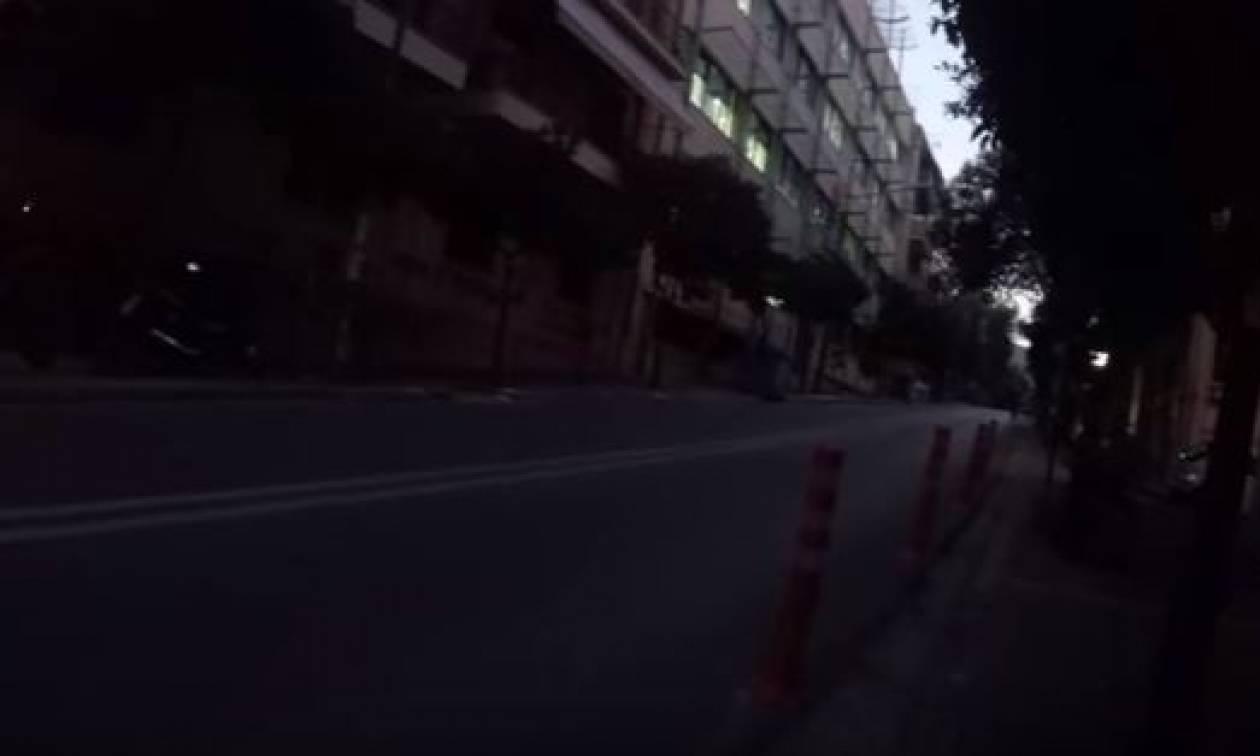 Το βίντεο από την επίθεση του «Ρουβίκωνα» στο δημαρχείο Ζωγράφου (vid)