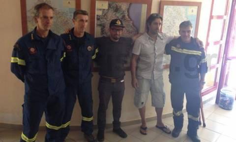 Καιρός - «Μέδουσα»: Αυτός είναι ο ορειβάτης που ανέβηκε στον Όλυμπο και τον έσωσε η ΕΜΑΚ (pics)