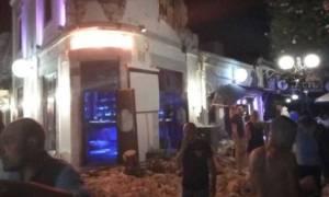 Σεισμός Κως: Συντρίμμια παντού – Στους δρόμους οι κάτοικοι