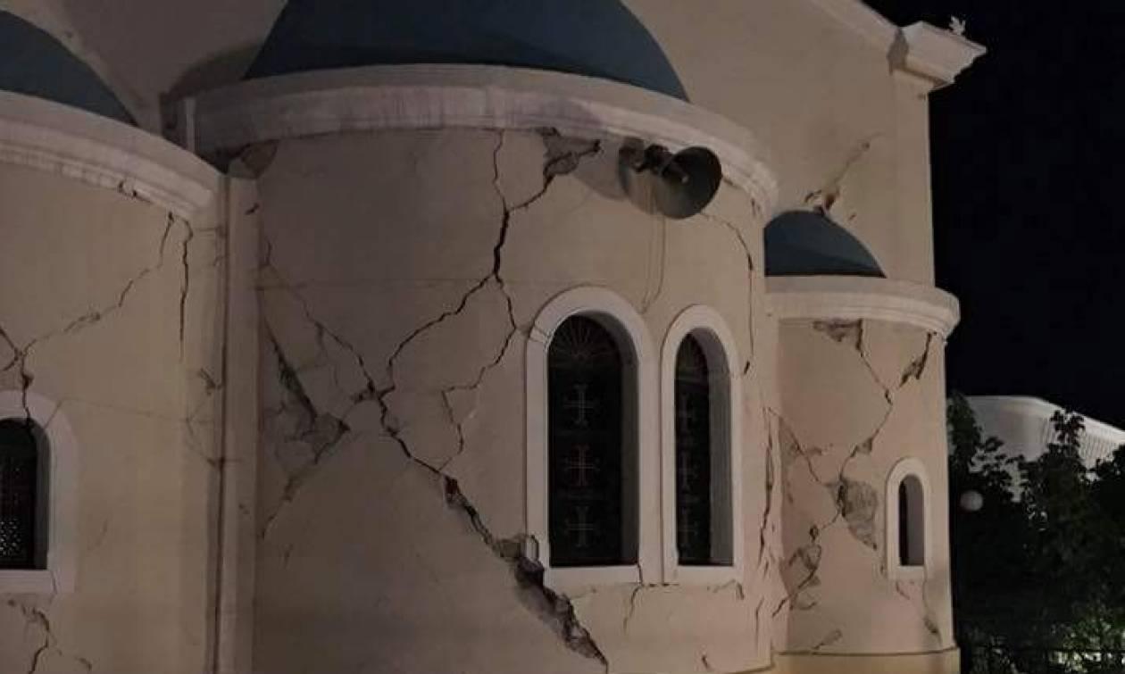 Βομβαρδισμένο τοπίο η Κως: Νεκροί, τραυματίες, και δεκάδες κατεστραμμένα κτήρια από το σεισμό