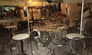 Σεισμός Κως Live: Εικόνες καταστροφής με το πρώτο φως της ημέρας