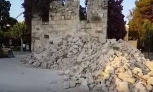 Σεισμός Κως - Βίντεο ντοκουμέντο: Σοκάρουν οι πρώτες εικόνες από το φονικό Εγκέλαδο
