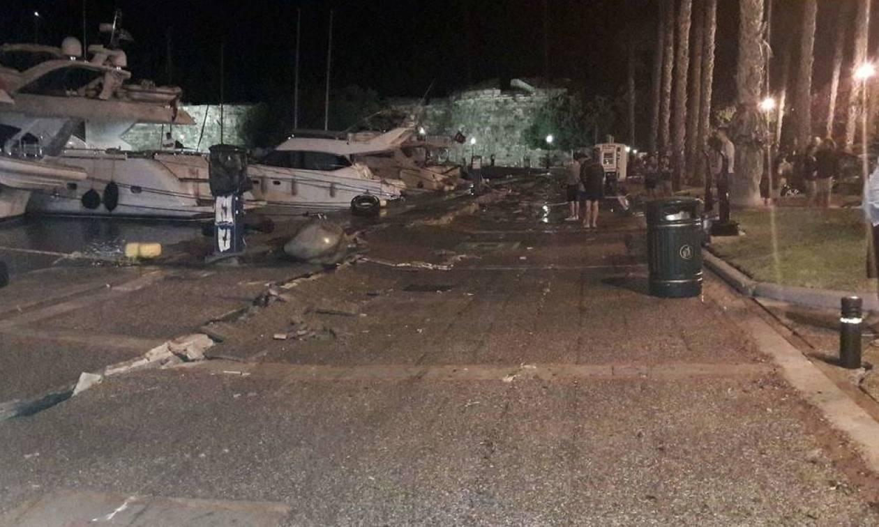 Σεισμός Κως: Ειδικοί λιμενολόγοι θα εκτιμήσουν τις ζημιές
