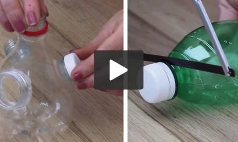 Ανακυκλώστε μόνοι σας τα άχρηστα πλαστικά μπουκάλια με 5 απίθανους τρόπους (video)