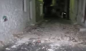 Σεισμός Κως: Βίντεο ντοκουμέντο από τις ζημιές στην Κάλυμνο!