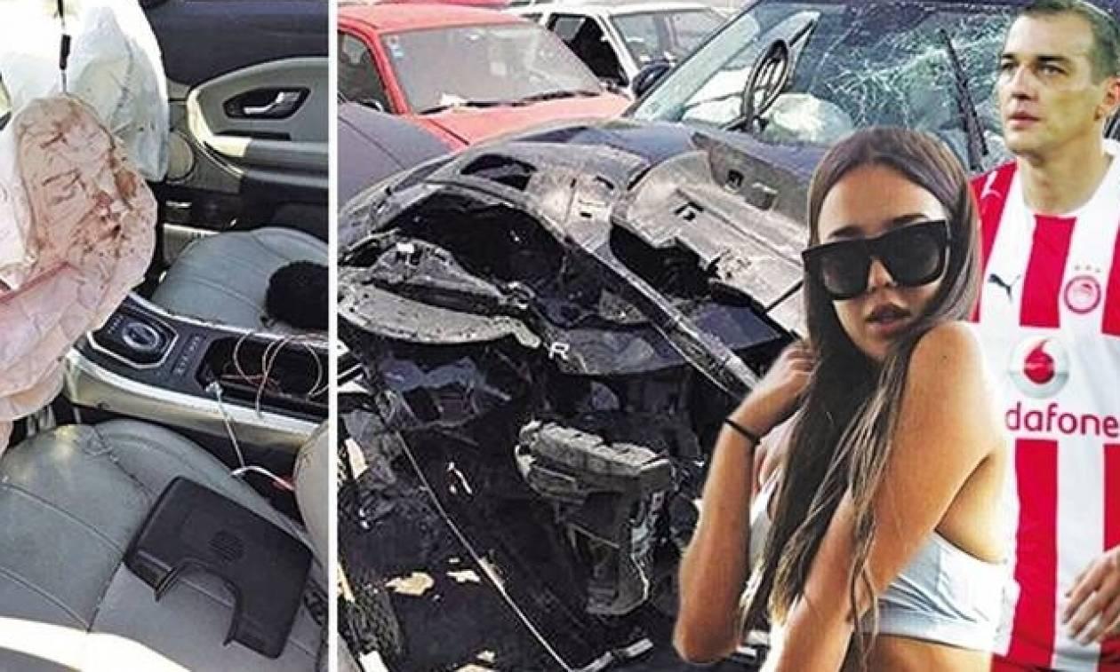 Για πρώτη φορά - Δείτε το διαλυμένο SUV της κόρης του Κοβάσεβιτς