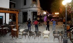 Σεισμός Κως: Δραματικές στιγμές! Τα πρώτα λεπτά στο «μπαρ του θανάτου» μετά το χτύπημα του Εγκέλαδου