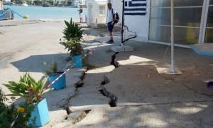 Σεισμός Κως: Κλιμάκιο της ΝΔ ενημερώθηκε για το μέγεθος των ζημιών