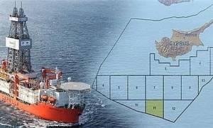 Κύπρος - Υπουργός Ενέργειας: Δεν θα δοθούν τώρα λεπτομέρειες για τη γεώτρηση