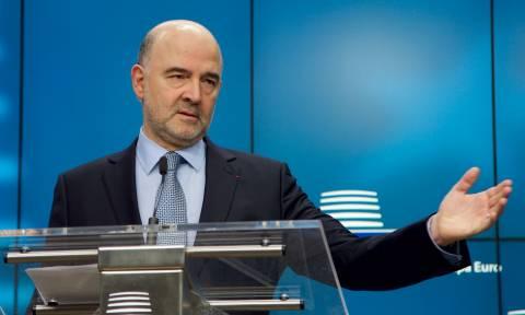 Μοσκοβισί: Δεν εφαρμόσαμε για πλάκα λιτότητα στην Ελλάδα