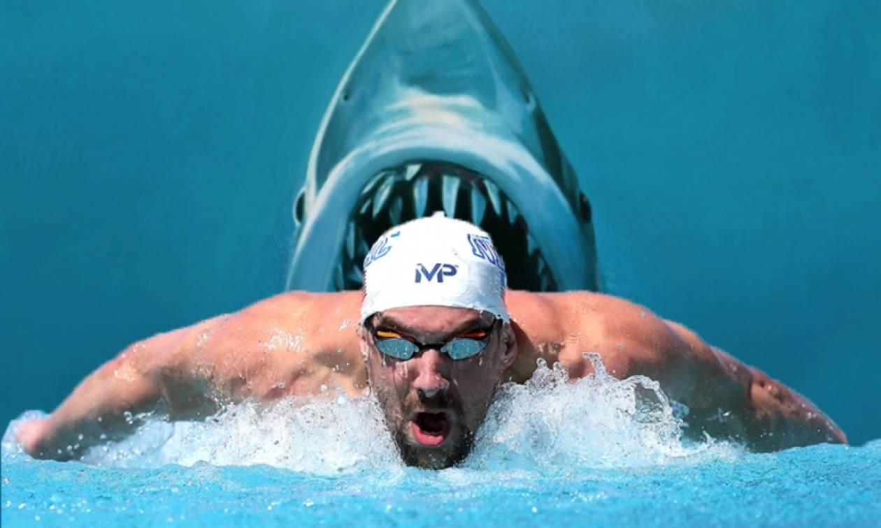 Μάικλ Φελπς εναντίον «Λευκού Καρχαρία»: Ποιος ήταν ο απόλυτος κυρίαρχος του αγώνα (video)