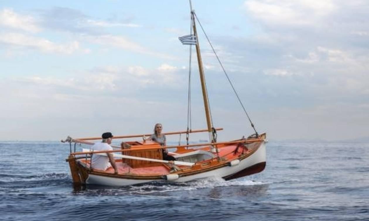 Λόγια της πλώρης πάνω στο καΐκι του Καπετάν Νικόλα