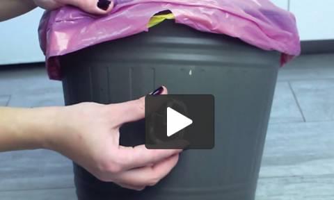 Απίθανα κόλπα για κινητό, τάμπλετ και... κάδους σκουπιδιών (video)