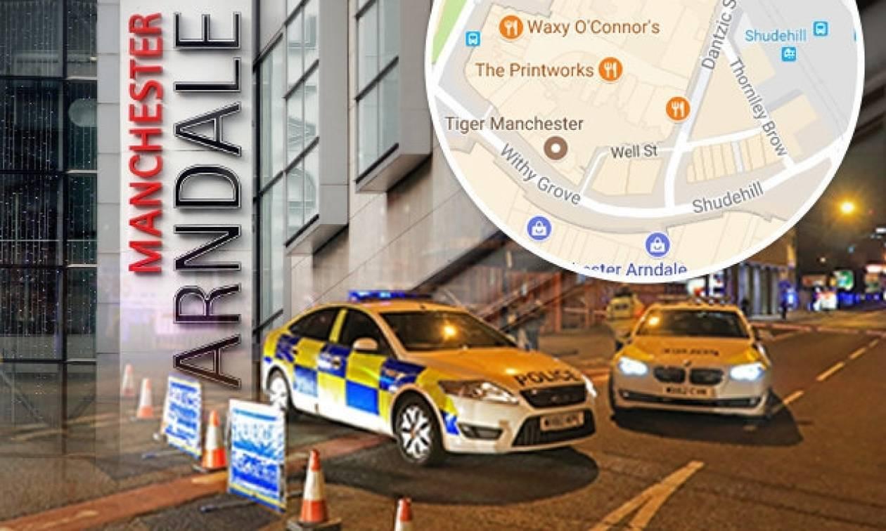 Συναγερμός στη Βρετανία: Επίθεση με φορτηγό κατά πεζών στο Μάντσεστερ