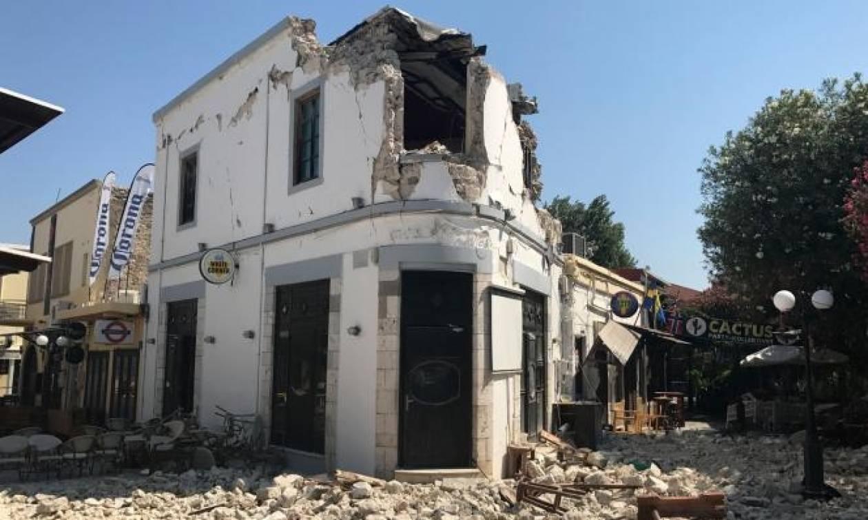 Σεισμός Κως: Σαρανταπέντε κτήρια μέχρι στιγμής κρίθηκαν μη κατοικήσιμα