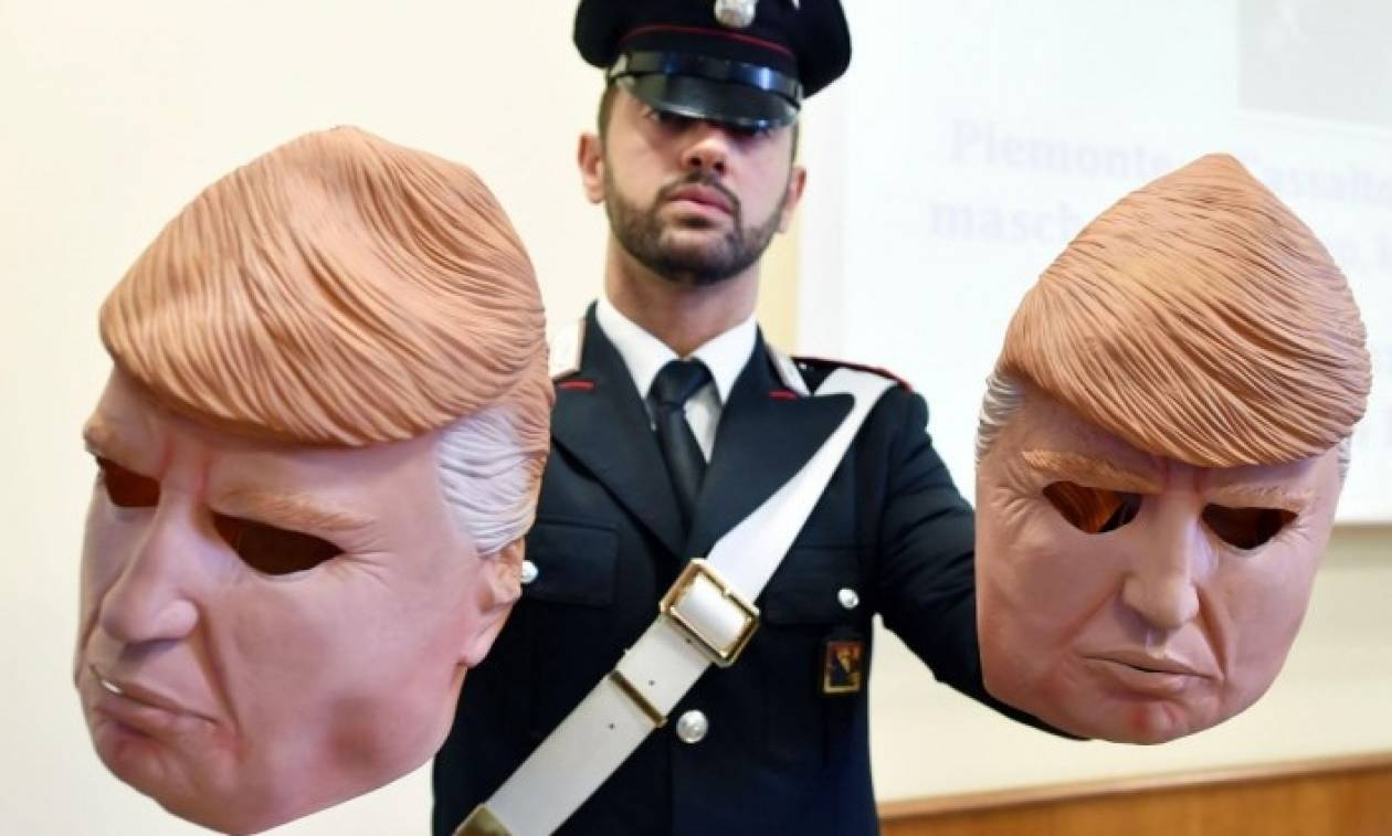 Λήστεψαν δεκάδες ATM τραπεζών φορώντας μάσκες του… Τραμπ