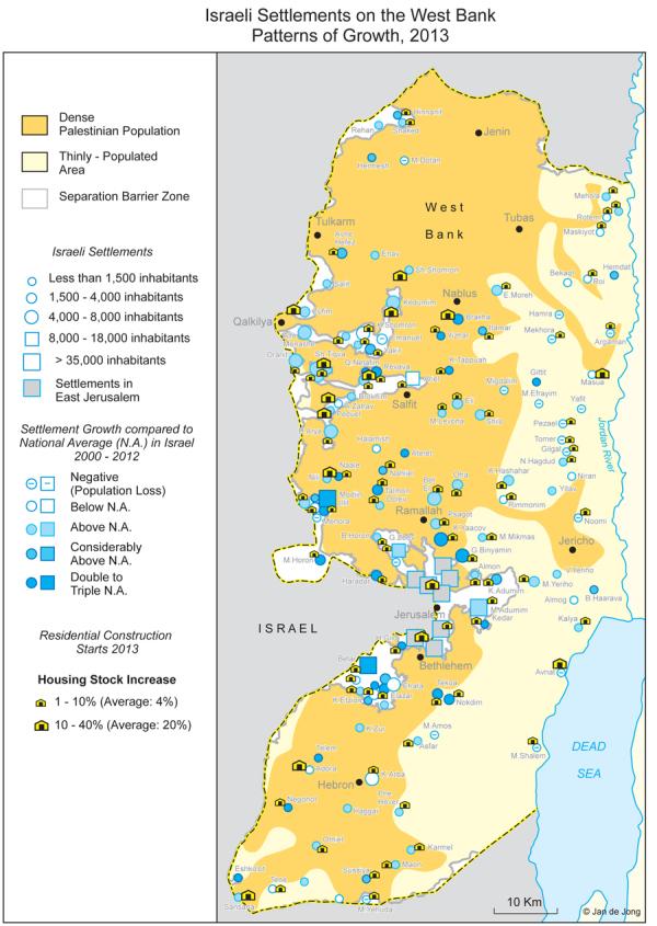 018 west bank settlements barrier