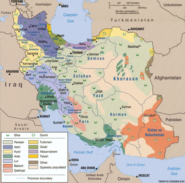 025 Iran demographics