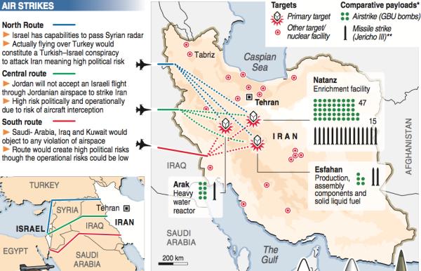 026 iran nuclear facilities israel strike 2009 reuters