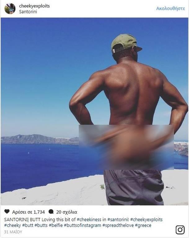Cheeky Exploits: Τα γυμνά οπίσθια του Instagram «χτύπησαν» και στην Ελλάδα