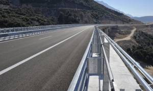 В Греции открывается новый участок скоростной трассы Афины-Яннина