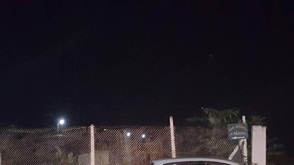 Πτώση αεροπλάνου Λάρισα: Οι πρώτες φωτογραφίες