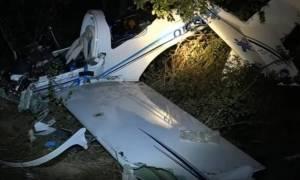 В Греции разбился самолет