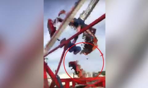 Τρομακτικό δυστύχημα σε λούνα παρκ με έναν νεκρό και επτά τραυματίες (ΠΡΟΣΟΧΗ! ΣΚΛΗΡΕΣ ΕΙΚΟΝΕΣ)