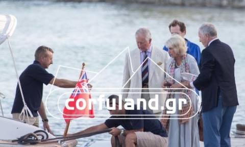 Στην Κέρκυρα για διακοπές ο Πρίγκιπας Κάρολος και η Καμίλα (photos)