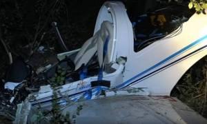 Two dead in plane crash near Larissa