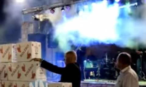Χάθηκε η... πίστα στο Τρίκορφο Ναυπακτίας για τον «Βασιλιά της Σαμπάνιας» (video)