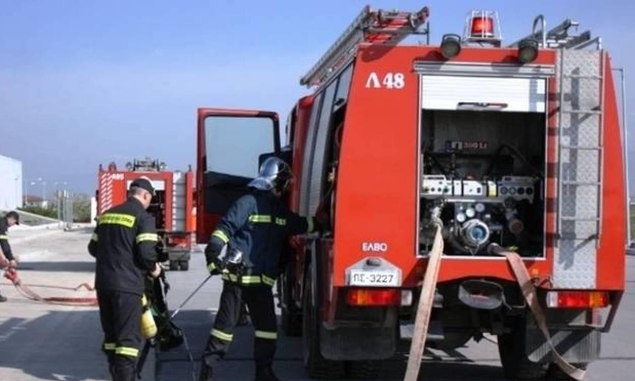 Λήξη «συναγερμού» για φωτιά σε οικόπεδο στη Σούδα