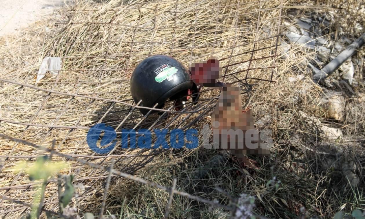 Νάξος: Φρικτός θάνατος 20χρονου τουρίστα σε τροχαίο με γουρούνα (photos)