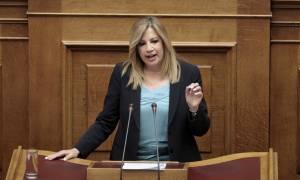 Γεννηματά: Ο Τσίπρας έχει χάσει την επαφή του με την πραγματικότητα