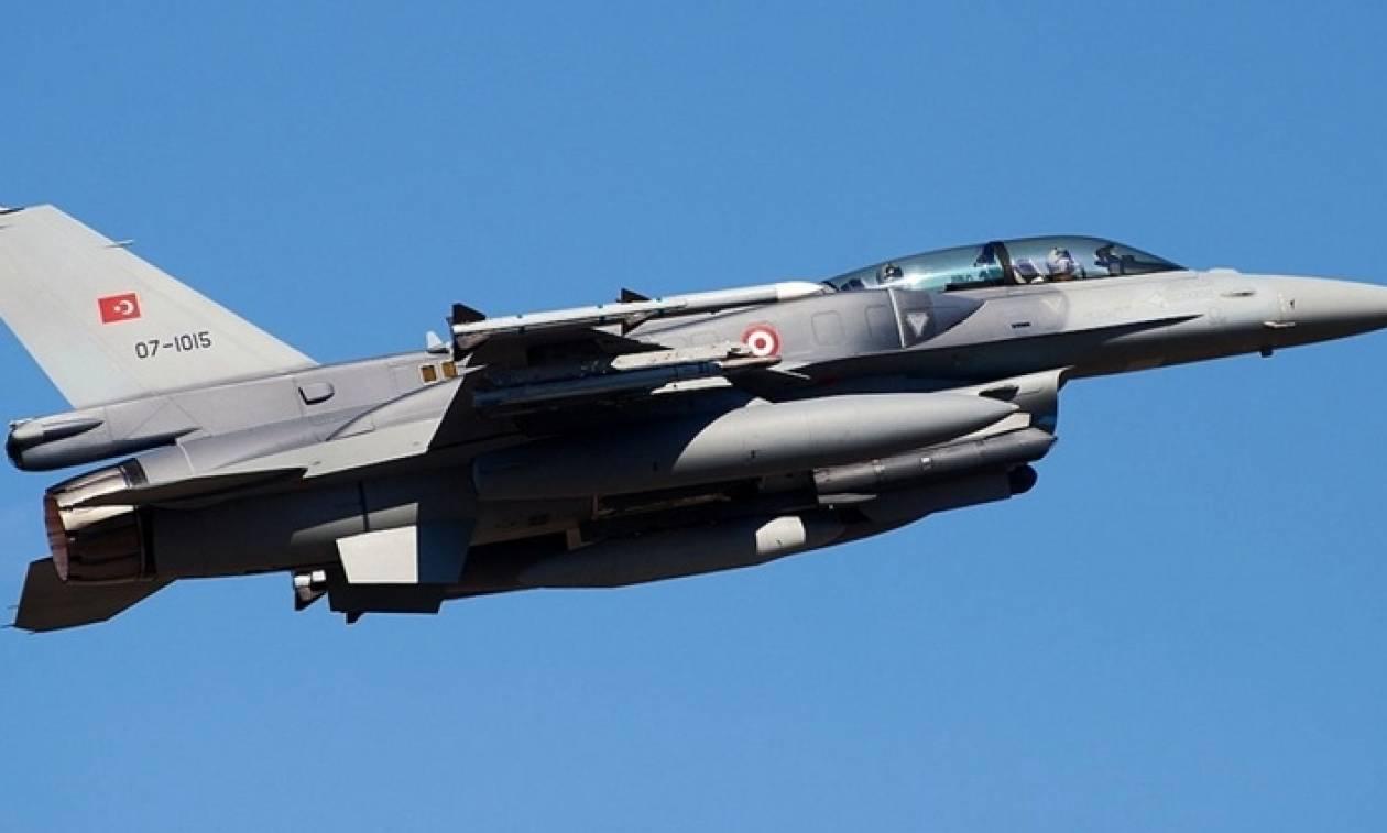 Πρόκληση δίχως όριο: Δύο τουρκικά F-16 πετούσαν επί μία ώρα στο Αιγαίο
