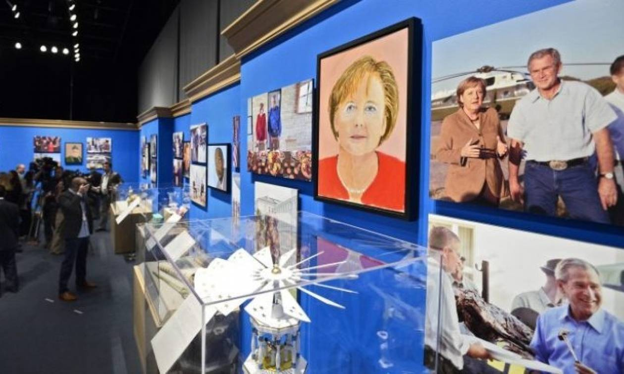 Πορτρέτα ηγετών του... Τζορτζ Μπους σε έκθεση στο Κολοράντο!