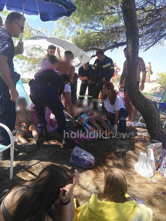 Τραυματίες από έκρηξη γκαζιού σε κατασκήνωση στη Χαλκιδική (photos & vid)