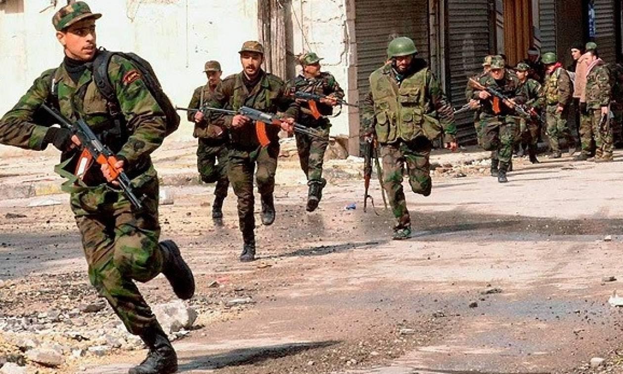 Συριά: Ένα βήμα πριν απελευθερώσει ο στρατός την τελευταία πόλη που κατείχε το ισλαμικό κράτος