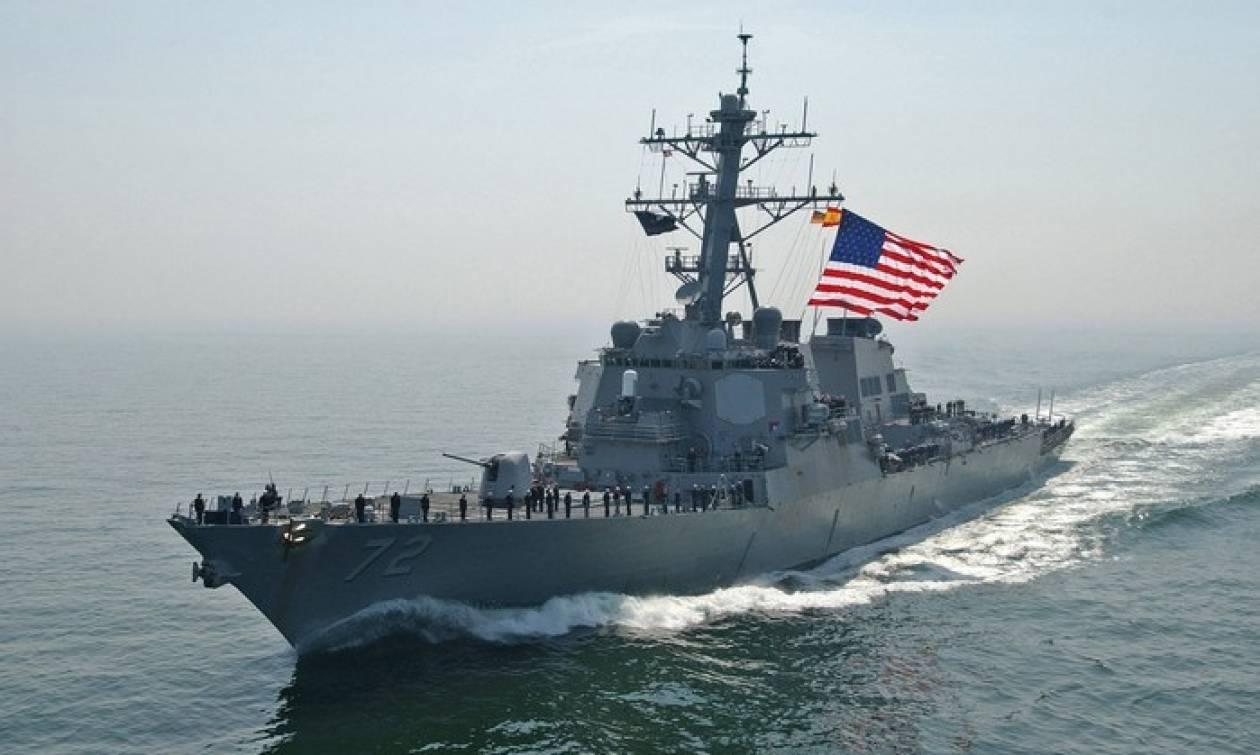 Προκαλεί η Τουρκία: Πολεμικό πλοίο των ΗΠΑ με τουρκική NAVTEX στην Κυπριακή ΑΟΖ