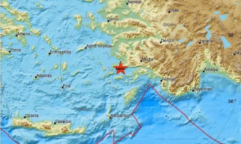 Σεισμός 4,2 Ρίχτερ στην Κω