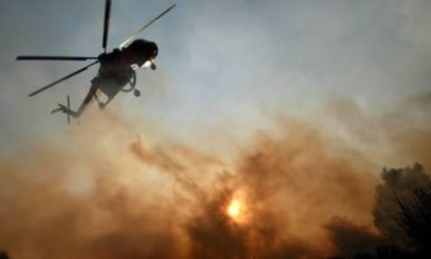 Φωτιά κοντά στις αυλές των σπιτιών στο Πικέρμι – Στις φλόγες αυτοκίνητο και αποθήκη