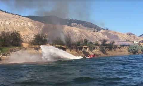 Viral video: Αυτή είναι η πιο παράξενη κατάσβεση πυρκαγιάς που έχετε δει ποτέ!