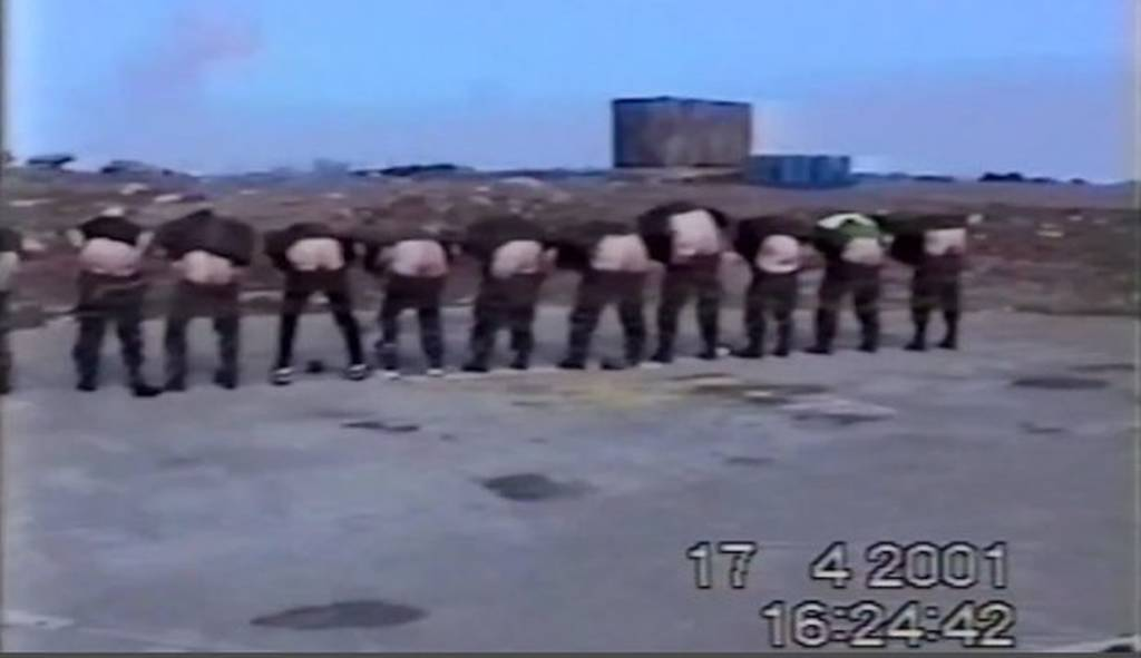 Εικόνες - ΣΟΚ: Σεξουαλική επίθεση σε γυναίκα στρατιωτικό της Αεροπορίας on camera