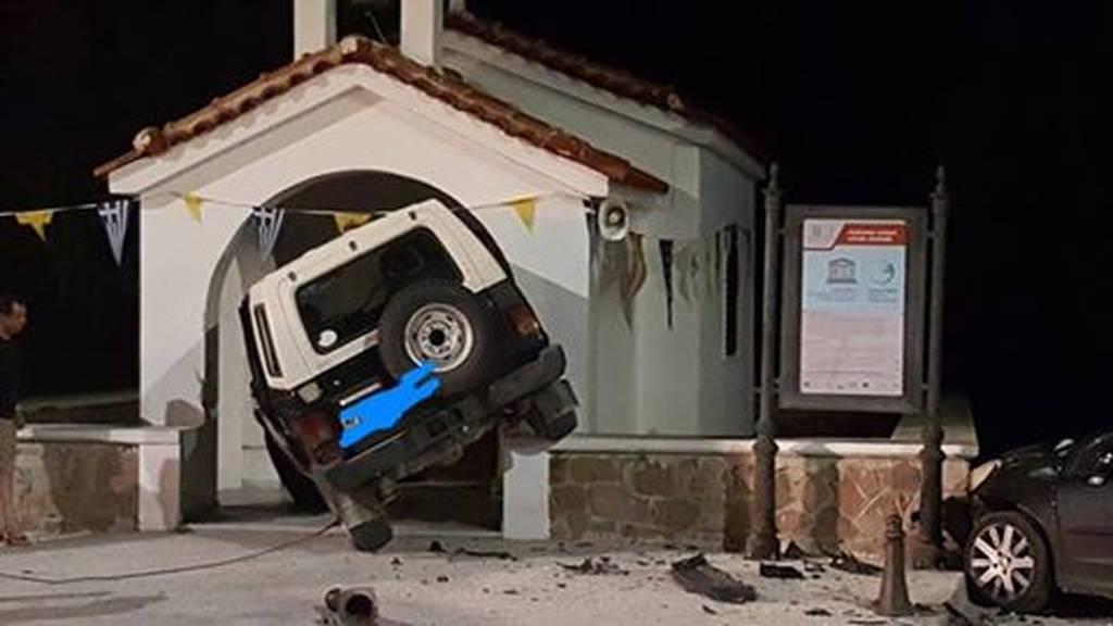 Εικόνα – σοκ: Τρομακτικό τροχαίο στη Μυτιλήνη (pic)