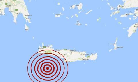 Σεισμός 5,1 Ρίχτερ νότια της Γαύδου - Αισθητός στη νότια Ελλάδα (pics)